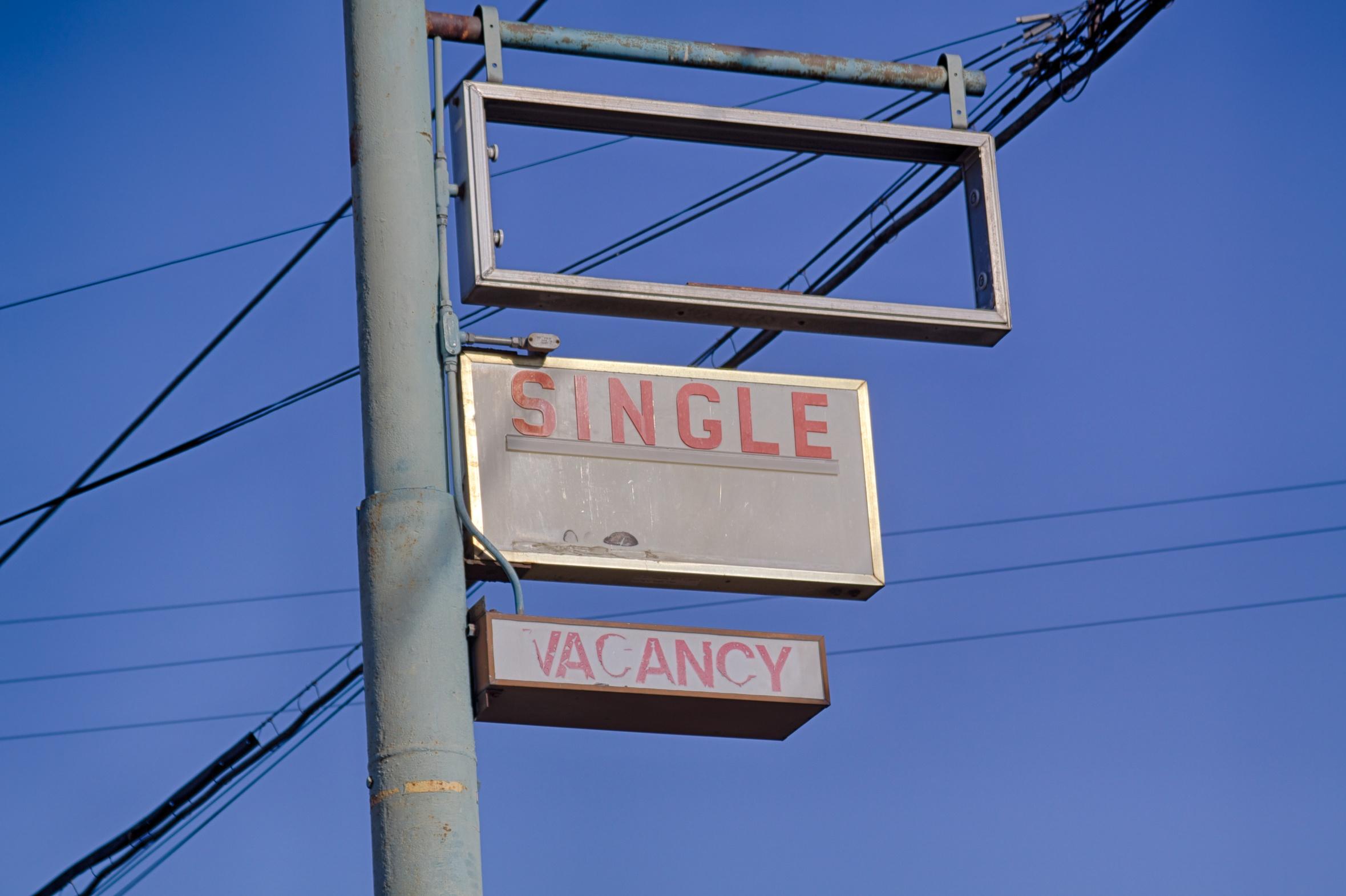 My sign...