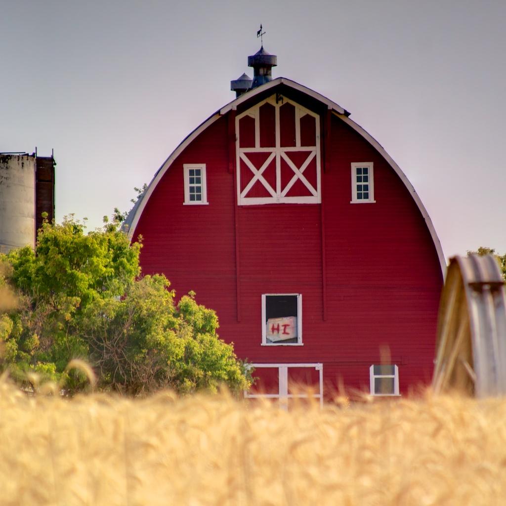 The friendliest barn in Utah...