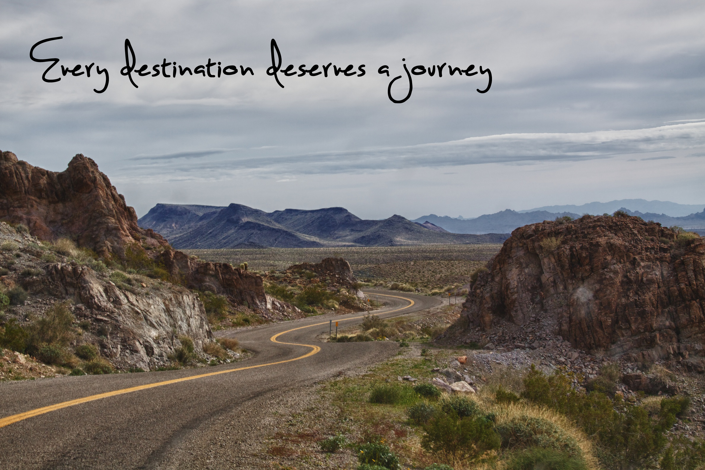 Every destination deserves a journey...