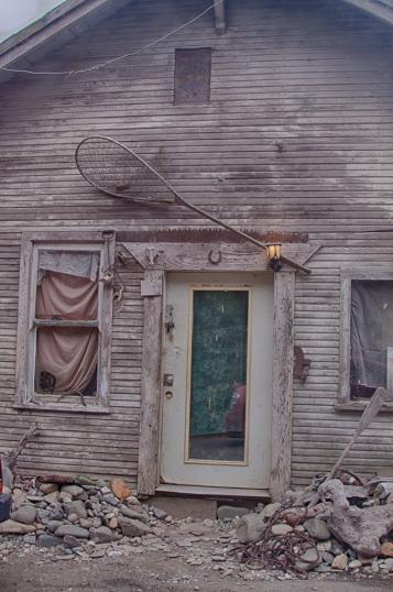 Authentic fishing shack