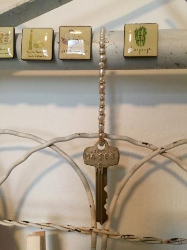 Old office key and my child-hood bracelet
