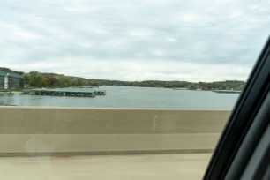 Our first glimpse of the Lake of the Ozarks